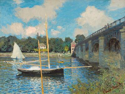 Claude Monet, 'The Bridge at Argenteuil', 1874