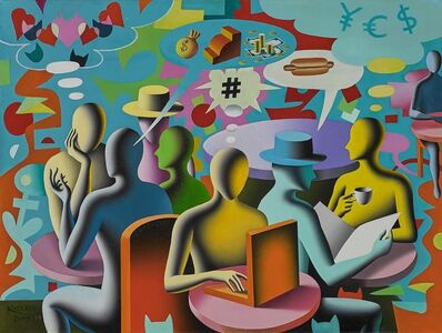 Mark Kostabi, 'Private Obsessions and Public Confessions', 2007-2014