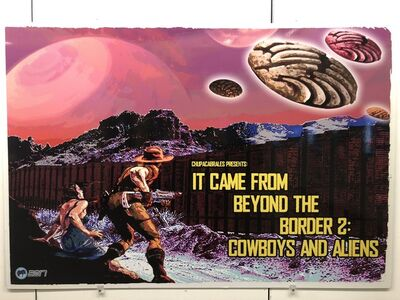 Angel Cabrales, 'IT CAME FROM BEYOND THE BORDER 2: COWBOYS AND ALIENS'