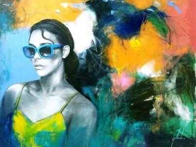 Pedro Gallardo, 'The Girl and the Birds', 2019