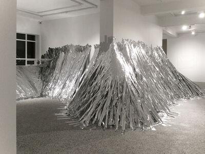 Monika Grzymala, 'Raumzeichnung (Berg)', 2017