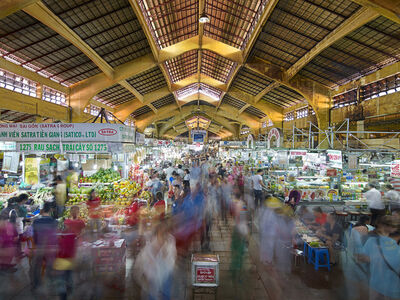 Peter Steinhauer, 'Ben Thanh Market, North Entrance, Saigon, Vietnam - 2013', 2013