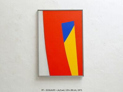 Rainer Tappeser, 'SCHLAUFE', 1971
