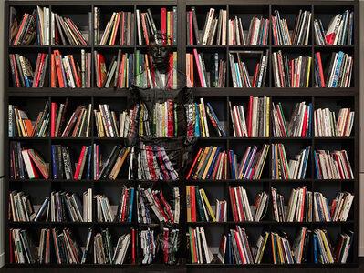 Liu Bolin, 'Hiding in Italy - Art Books No.2', 2018
