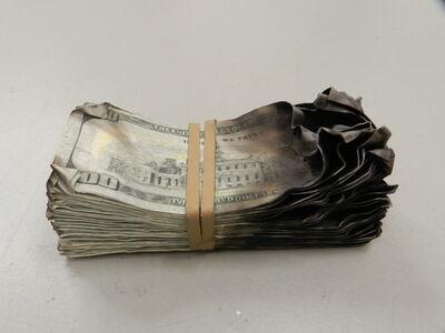 """Alejandro Monge, '""""HARD MONEY 100$ 5""""', 2019"""