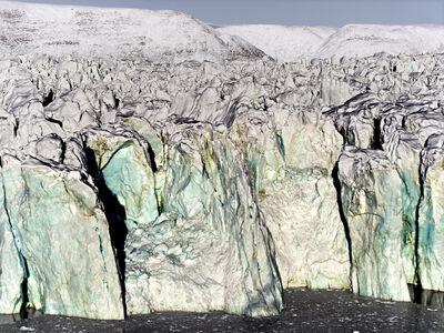 Henrik Saxgren, 'Glacier Face', 2016
