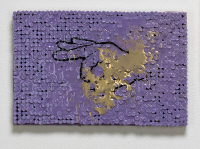 Sean Healy, 'OK Sign w/Purple and Gold', 2018-2019
