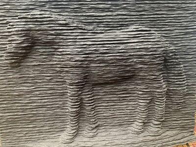 Boaz Vaadia, 'Horse relief', ca. 2001