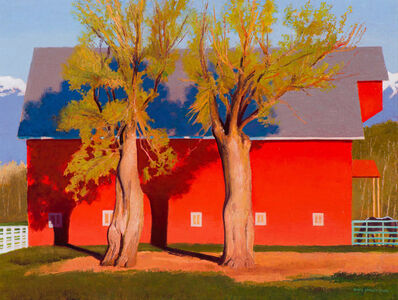 Gary Ernest Smith, 'Red Barn in Evening Light', 20th/21st Century