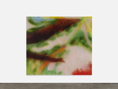 Yves Scherer, 'Anna Amiet in the Garden', 2020