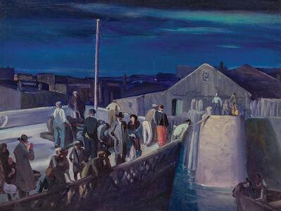 Frank Wilcox, 'Midnight Landing', ca. 1943