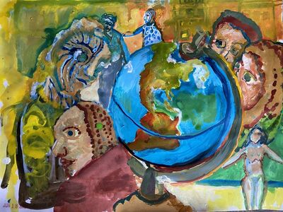 Laurie Heller Marcus, 'THE GLOBE', 2020