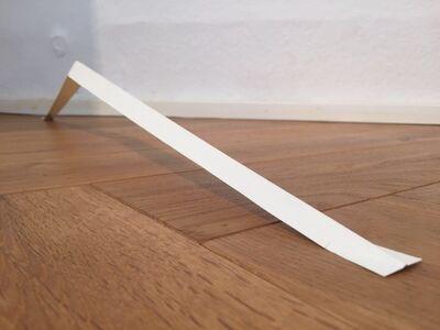 Martin Willing, 'stehende Papierbrücke', 2.200