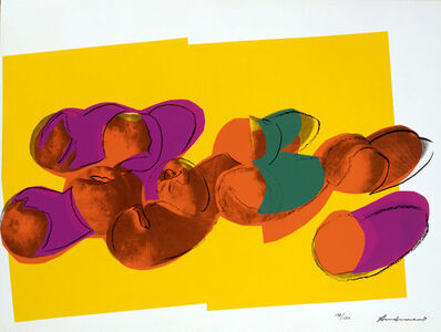 Andy Warhol, 'Space Fruits (Peaches)', 1979