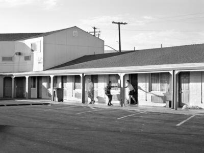 Katy Grannan, 'Kiki Pays Debt, Room 123, Traveler's Motel, Modesto, CA', 2013