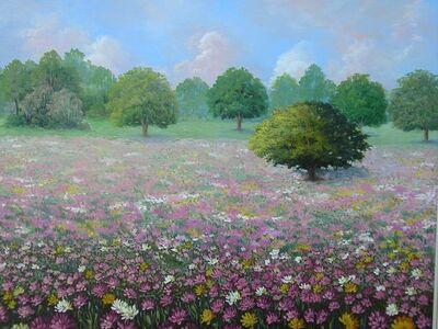 Edite Osztrovszky, 'Chrysanthemums', 2002