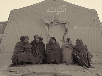 Simon Norfolk, 'Strongly Pro-Taliban Refugees', 2010