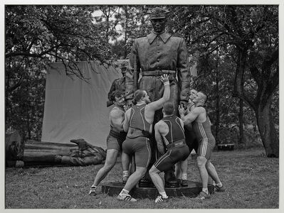 Christian Jankowski, 'Heavy Weight History (Brotherhood of Arms)', 2013