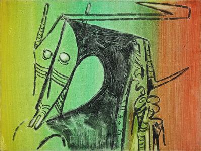Wifredo Lam, 'Tete ( Head)', 1972