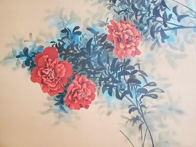 David Lee, 'Red Flowers', ca. 1996