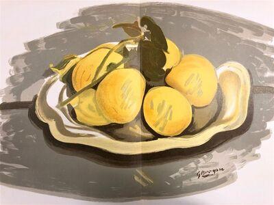 Georges Braque, 'Corbeille de fruits', 1952
