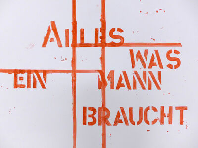 Monica Bonvicini, 'Ohne Titel', 2000/01