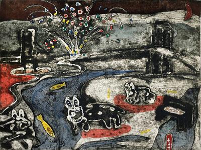 Manuel Lau, 'Chiens Vagabonds Suite - Puente', 2007