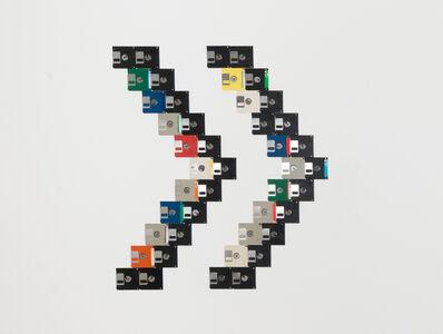 Mariángeles Soto-Díaz, 'Floppy disks #1 (on wall)', 2017