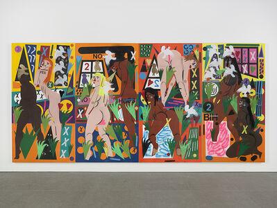 Nina Chanel Abney, 'Hothouse', 2016