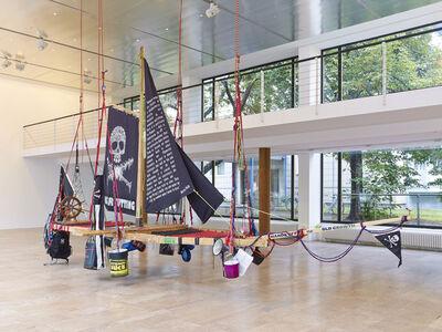 Andrea Bowers, 'Radical Feminist Pirate Ship Tree Sitting Platform', 2013