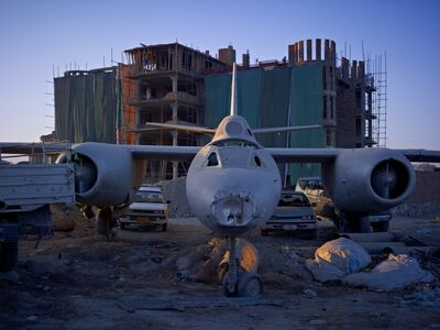Simon Norfolk, 'A Dumping Ground For An Abandoned Russian-Era Bomber', 2010