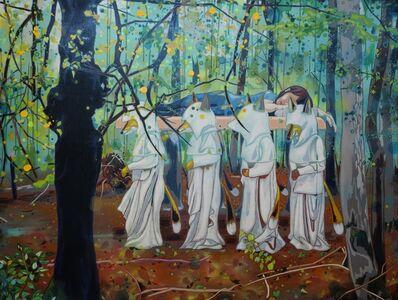 Kota Hirakawa, 'Where Do We Come From? Where Are We Going?-Sleeping Forest', 2014