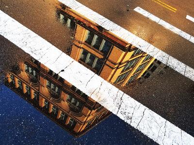 Richard Oszust, 'Astor Place Crossing', January 2019