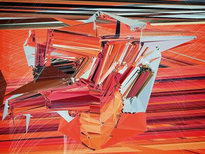 """Fernando Velázquez (b. 1970), 'da série """"about complexity"""", #0001 / after the mindscapes series', 2015"""