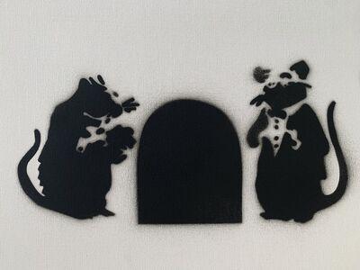 """Banksy, 'BANKSY DISMALAND """" RATS RED CARPET"""" ', 2015"""