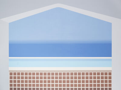 Charlie Quezada, 'Cantilevered Swimming Pool', 2019
