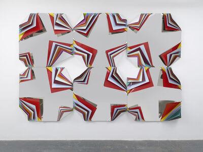 Jim Lambie, 'Metal Box (Diamond Crown Orchid)', 2013