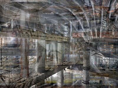 Shai Kremer, 'W.T.C Concrete Abstract#5 ', 2012