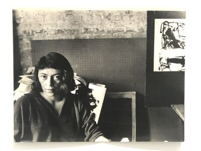 Walter Silver, 'Portrait of Joan Mitchell', 1959