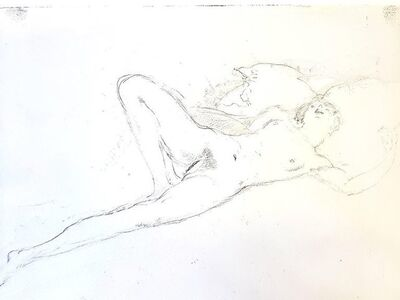 "Jean Gabriel Domergue, 'Original Etching ""Naked"" by Jean-Gabriel Domergue', 1924"