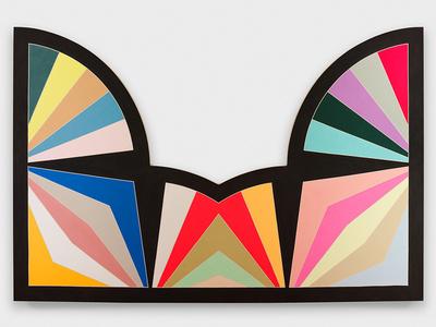 Frank stella 394 artworks bio shows on artsy for Minimal art frank stella