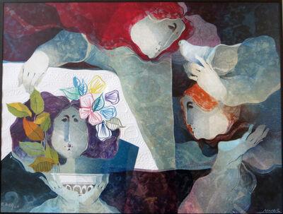 Alvar Sunol, 'Embossed lithograph', ca. 1980