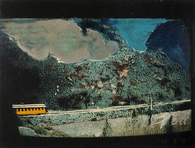 Mario Schifano, 'Pagina IV', 1996