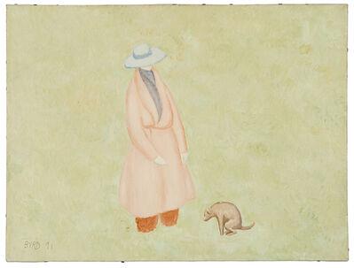 David Byrd, 'Woman and Dog', 1991