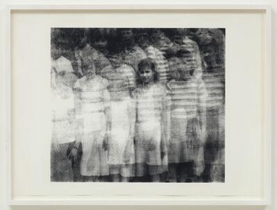 Christiane Baumgartner, 'Klasse 7a (Mädels)', 1998