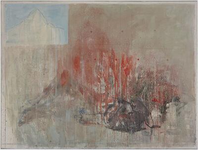 Cesare Lucchini, 'interno - la caduta', 2014