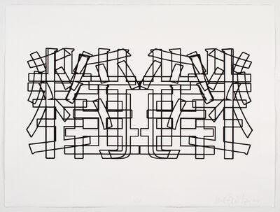 Luis Camnitzer, 'Symmetrical Jails', 2014