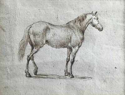 Johann Georg Pforr, 'Study of A Horse', ca. 1785