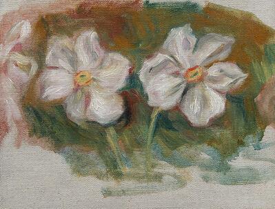Pierre-Auguste Renoir, 'Etude pour l'encadrement du portrait de  Madame Galéa, détail de frise, (Les narcisses)', ca. 1915