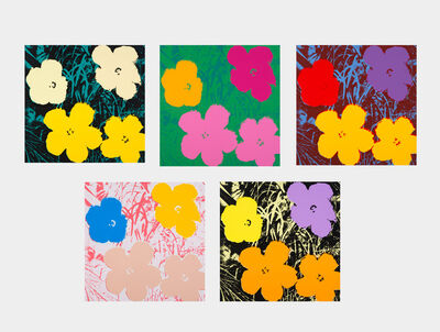 Andy Warhol, 'Sunday B Morning - Flowers'